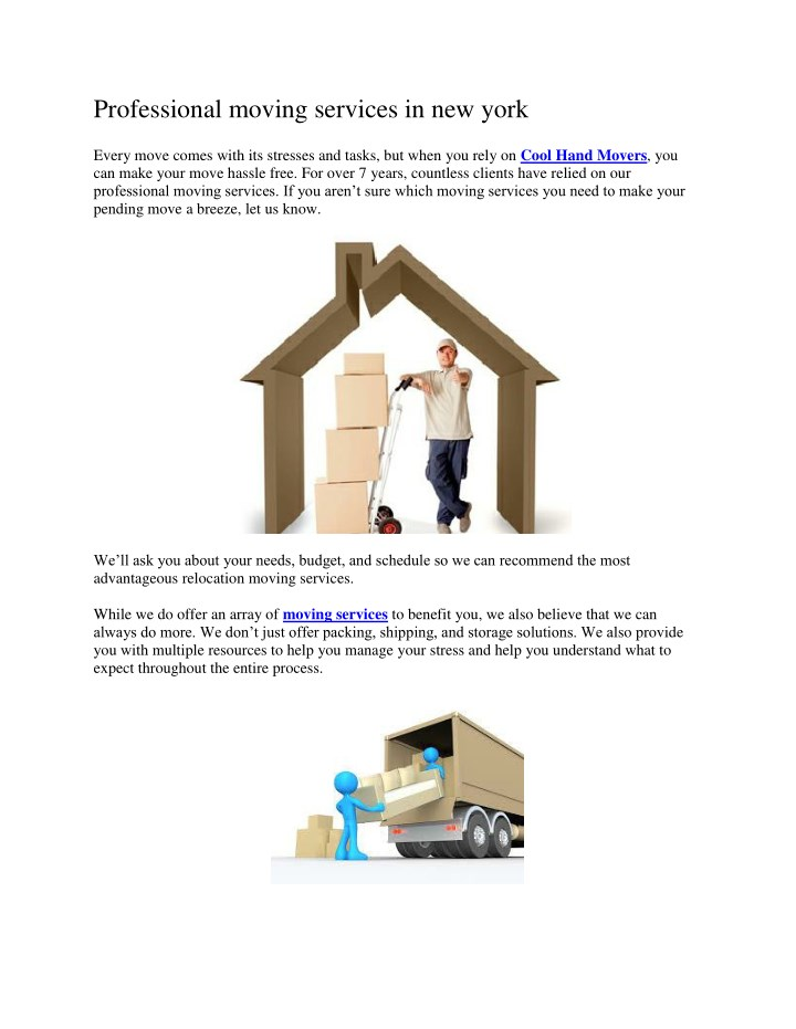 professional moving services in new york n.
