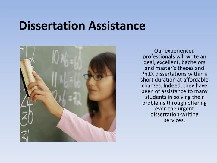 Thesis assistance writing guidelines ppt