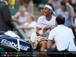 spain s rafael nadal receives medical attention