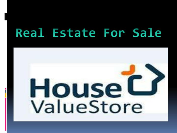 real estate for sale n.