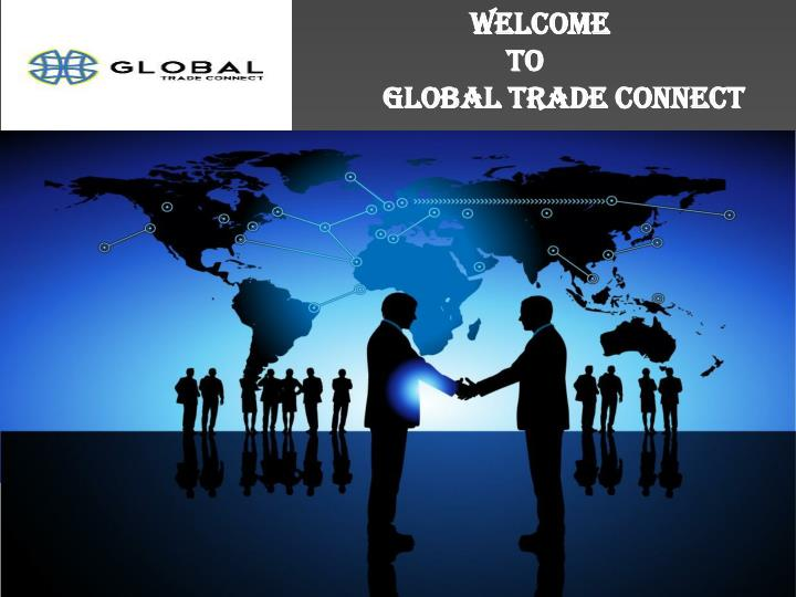 welcome to global trade connect n.