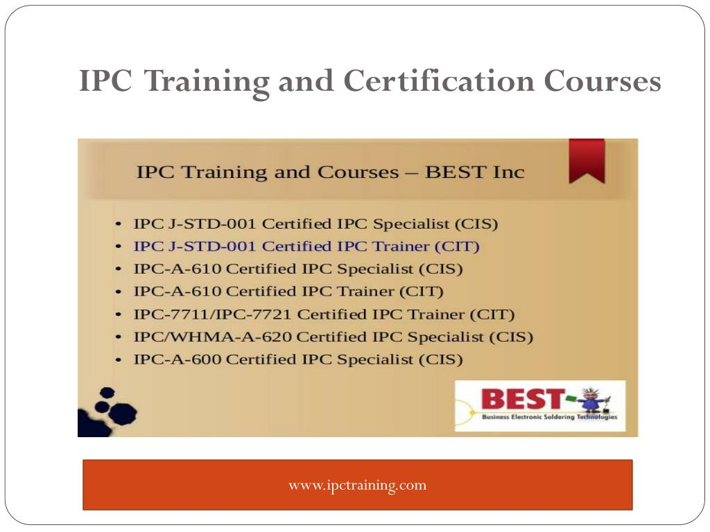 PPT - IPC Training and Solder Certification PowerPoint