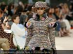 a model presents a creation by chanel reuters 12