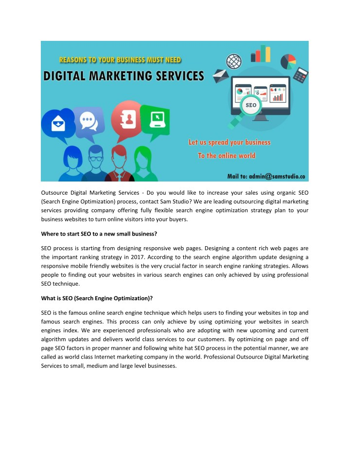 outsource digital marketing services do you would n.