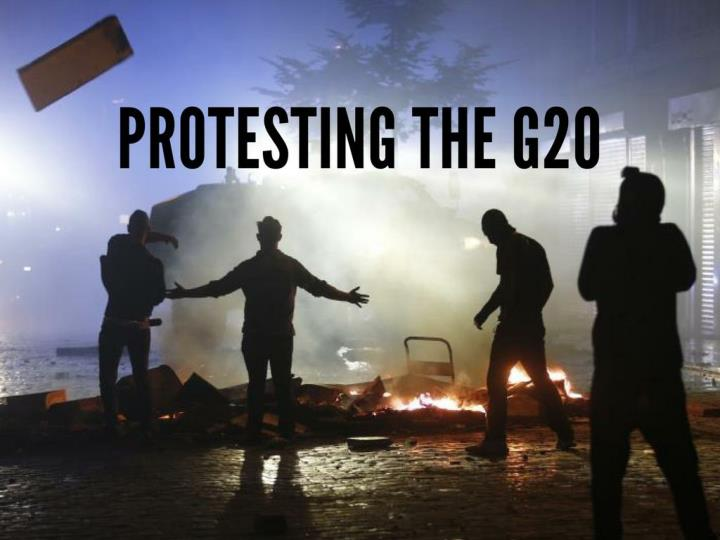 protesting the g20 n.