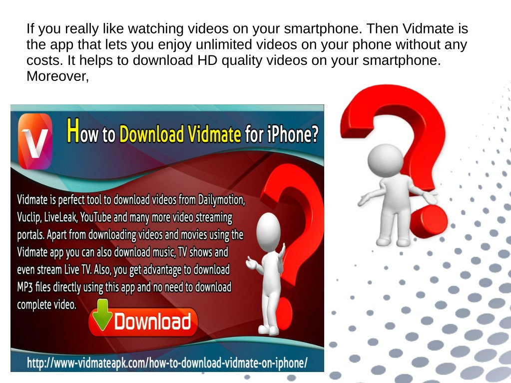 PPT - How To Download Vidmate For iPhone PowerPoint
