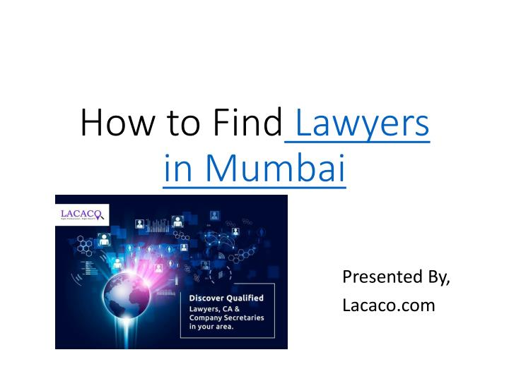 how to find lawyers in mumbai n.
