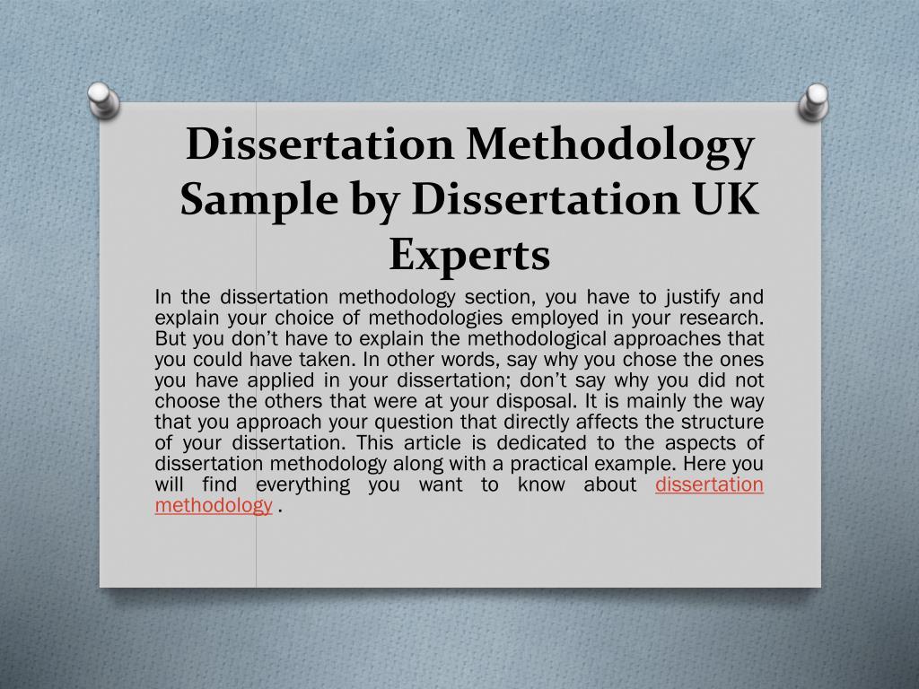 Steps in preparing a dissertation