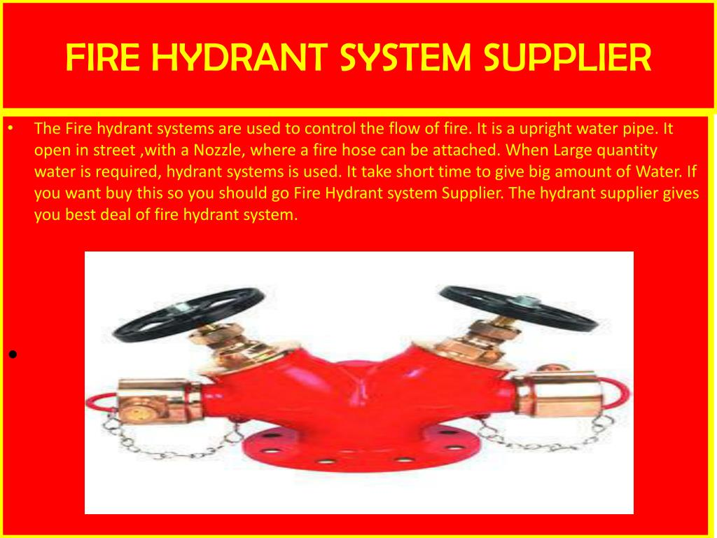 PPT - Fire Hydrant Systems Supplier PowerPoint Presentation