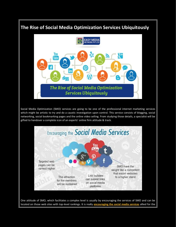 the rise of social media optimization services n.