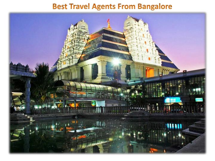 best travel agents from bangalore n.