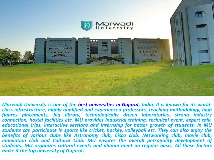 PPT - Best University in Gujarat PowerPoint Presentation