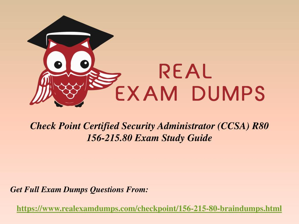 PPT - Get Latest CheckPoint 156-215 80 Exam Question - 156