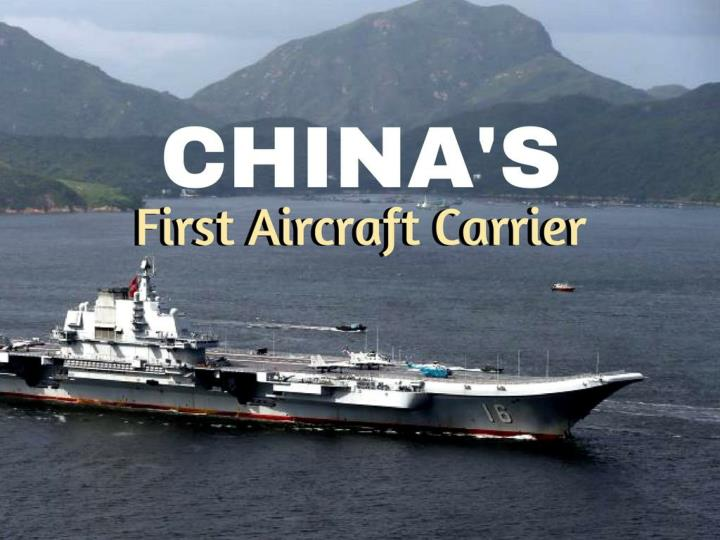 china s first aircraft carrier n.