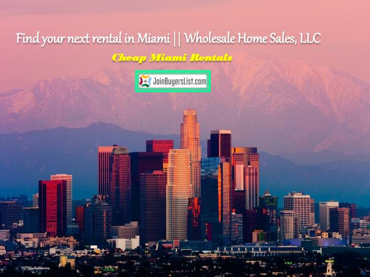 find your next rental in miami wholesale home n.
