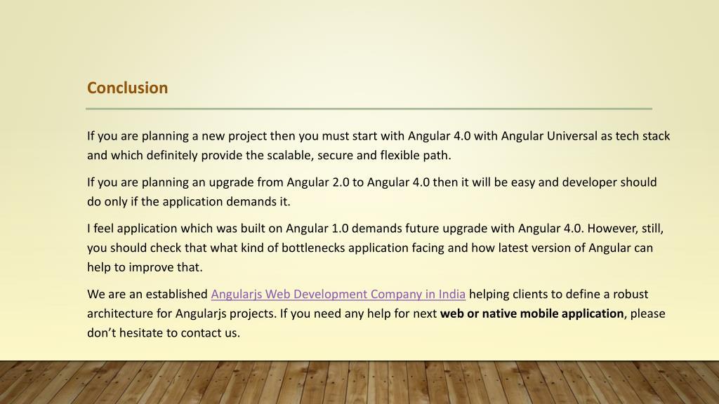 PPT - Angularjs 1 Vs Angular 2 Vs Angular 4 - Essential Differences