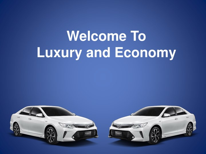 welcome to luxury and economy n.