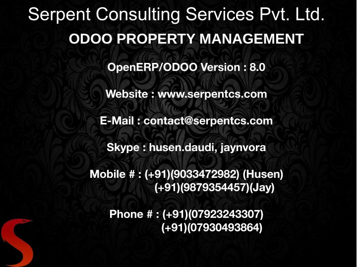 serpent consulting services pvt ltd odoo property n.