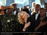 madonna reacts during the opening of her mercy 3