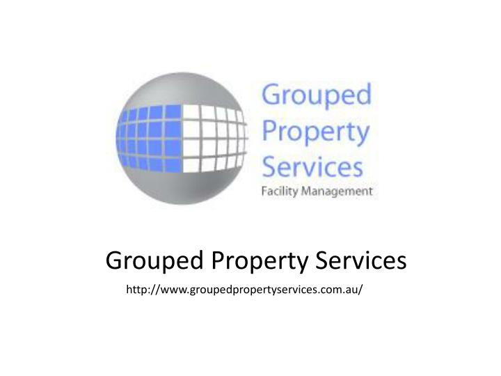 grouped property services n.