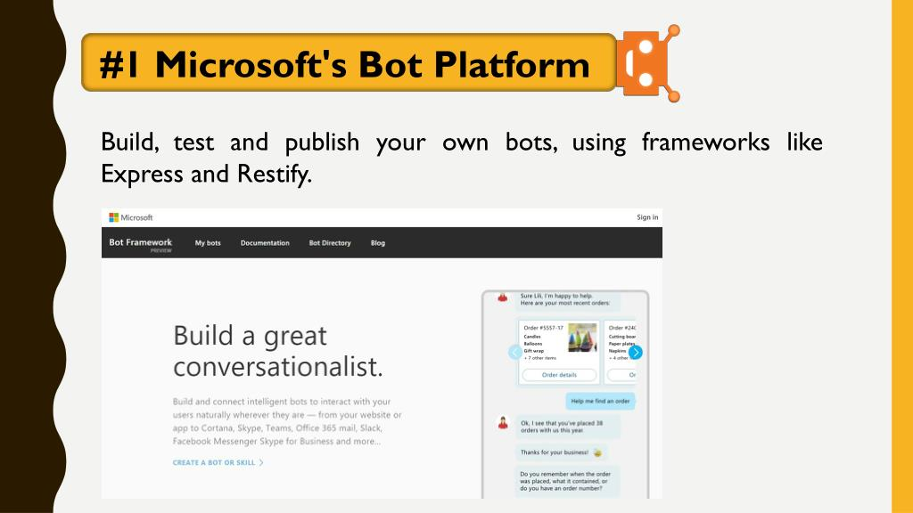PPT - Everything you need to know about chatbots PowerPoint