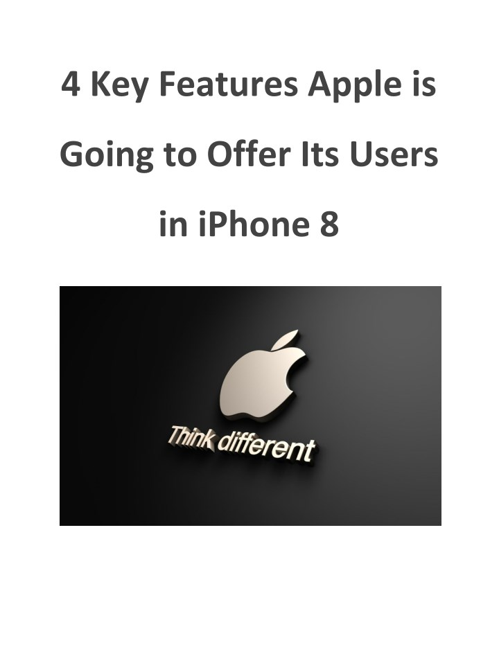 4 key features apple is n.