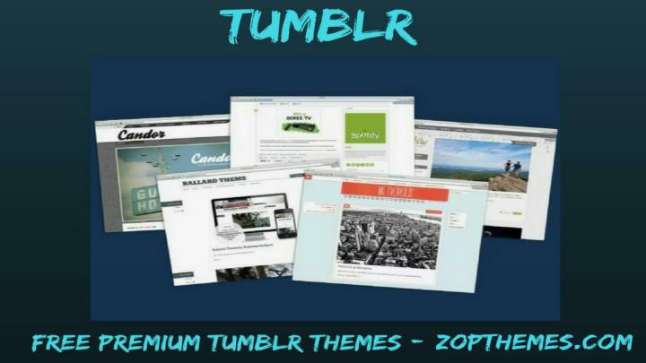Ppt free tumblr template free premium tumblr themes from download toneelgroepblik Image collections