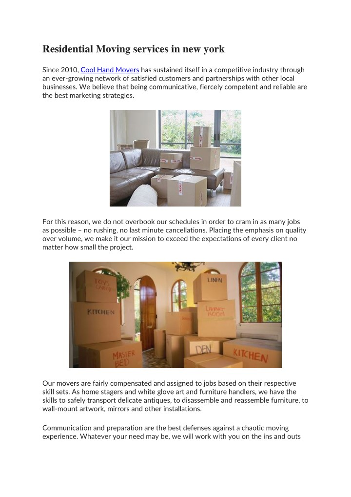 residential moving services in new york n.