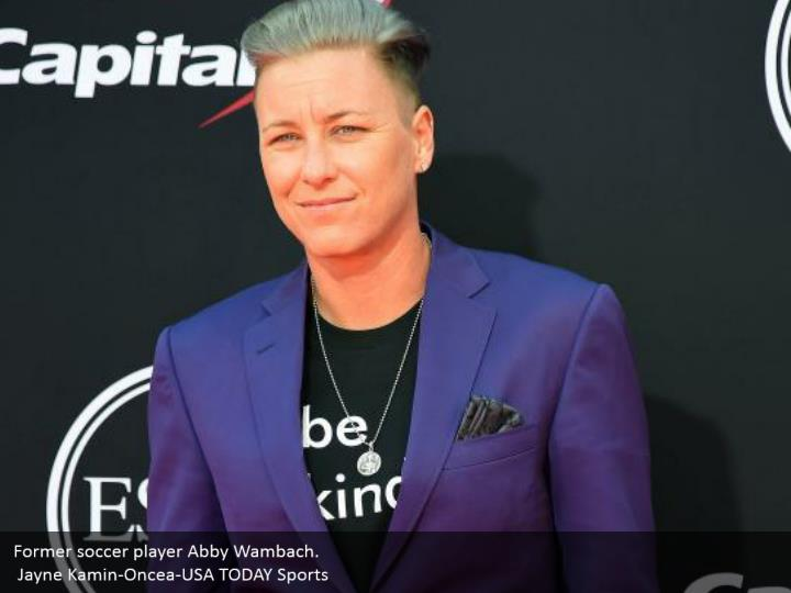 Former soccer player Abby Wambach.  Jayne Kamin-Oncea-USA TODAY Sports
