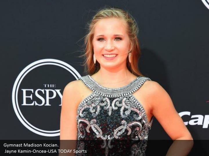 Gymnast Madison Kocian.  Jayne Kamin-Oncea-USA TODAY Sports
