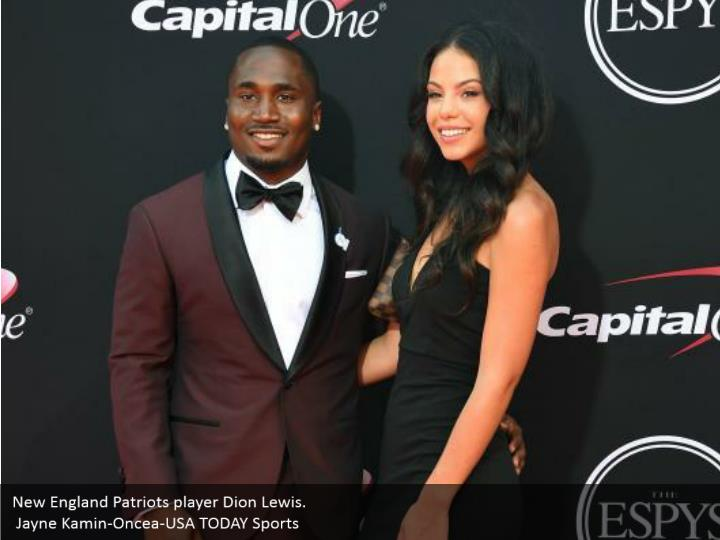 New England Patriots player Dion Lewis.  Jayne Kamin-Oncea-USA TODAY Sports