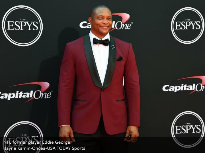 NFL former player Eddie George.  Jayne Kamin-Oncea-USA TODAY Sports