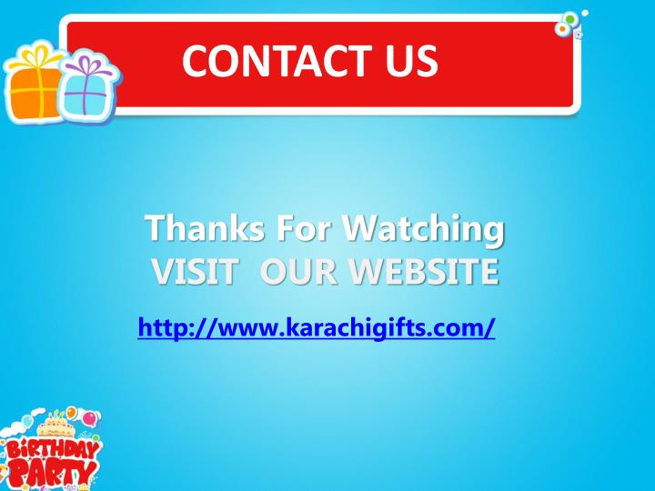 f8e61081bd8a PPT - Send Gifts to Pakistan PowerPoint Presentation - ID 7632374