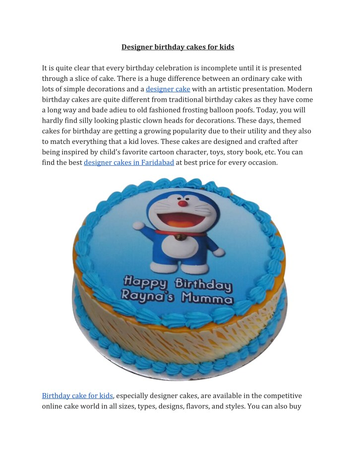 Admirable Ppt Order Designer Cakes Online For Kids Birthday Powerpoint Funny Birthday Cards Online Fluifree Goldxyz