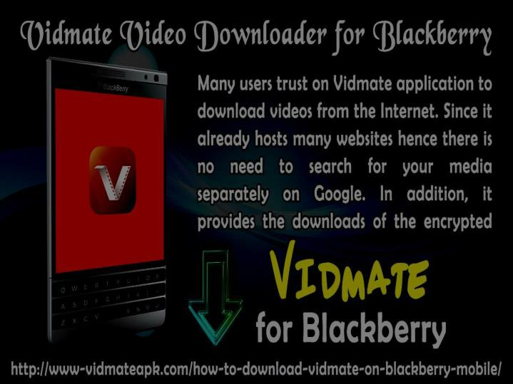 PPT - Download Vidmate For Blackberry Fhone PowerPoint Presentation
