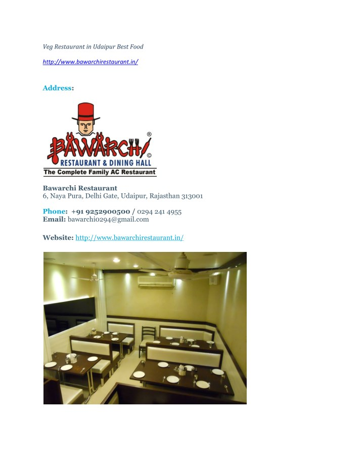 Veg restaurant in udaipur best food 1