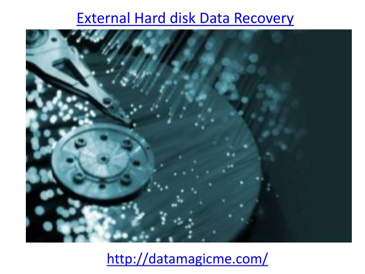external hard disk data recovery n.