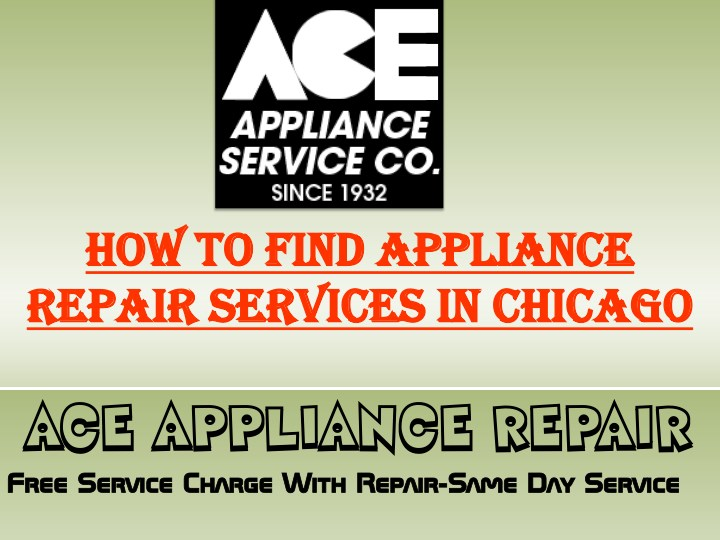 how how to find appliance to find appliance n.