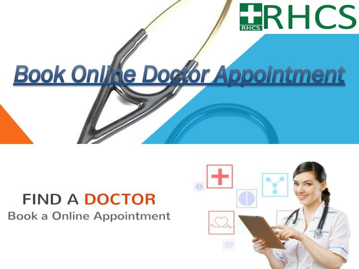 PPT - Book Online Doctor Appointment PowerPoint Presentation