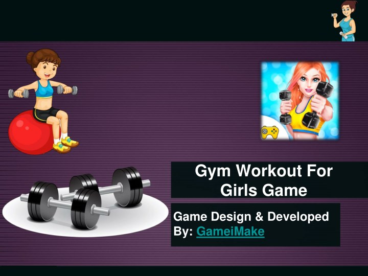 gym workout for girls game n.