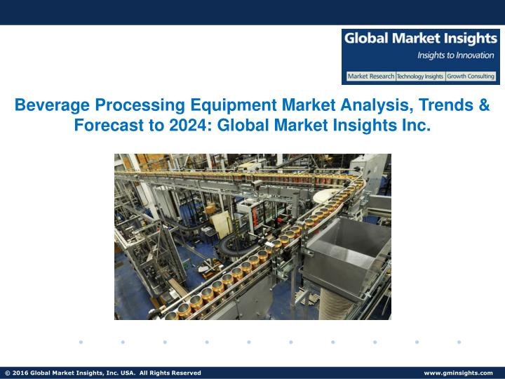 beverage processing equipment market analysis n.