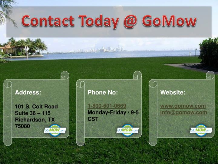Ppt Residential Amp Commercial Lawn Mowing Services In