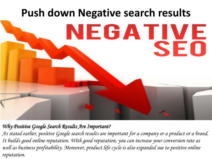 Push down negative search results 2