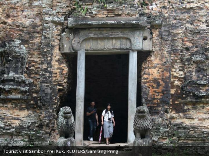 Tourist visit Sambor Prei Kuk. REUTERS/Samrang Pring