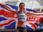 olivia breen of great britain celebrates after