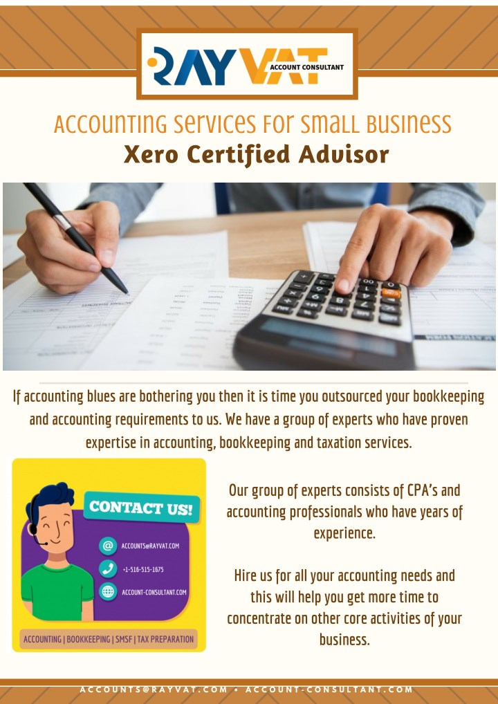 accounting services for small business xero n.