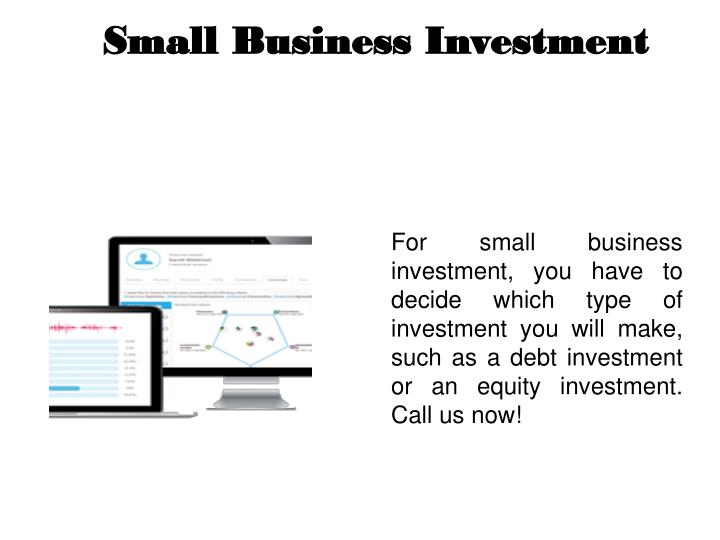 small business investment n.