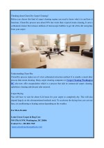 thinking about chem dry carpet cleaning before