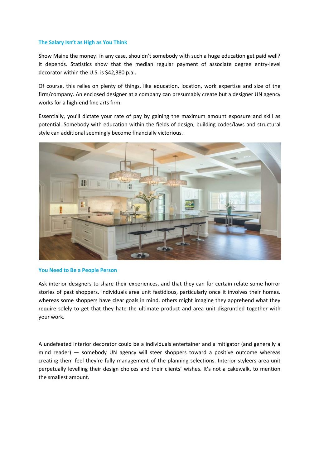 Ppt Interior Designers And Decorators Thestudiobangalore