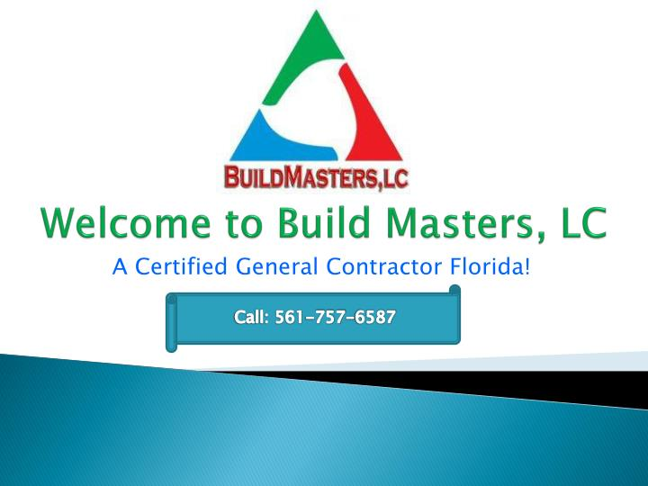 welcome to build masters lc n.